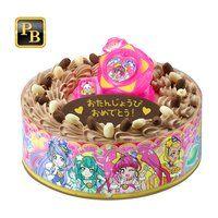 キャラデコお祝いケーキ スター☆トゥインクルプリキュア(チョコクリーム)[5号サイズ]