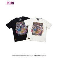 【ジョジョの奇妙な冒険 黄金の風×glamb】コラボレーションTシャツ3