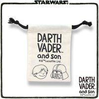 STAR WARS DARTH VADER and son 巾着