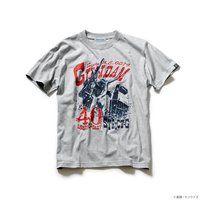 『機動戦士ガンダム』 40周年記念 Tシャツ ガンダムコンバット柄