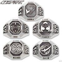 平成仮面ライダーシリーズ20th silver925 カレッジリング【W〜鎧武】
