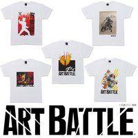 仮面ライダーシリーズ×ART BATTLE Tシャツ