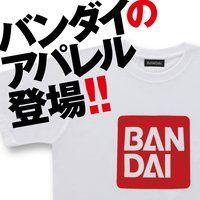 BANDAI ロゴ柄 Tシャツ
