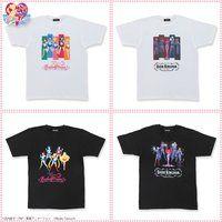 美少女戦士セーラームーン セーラー5戦士&ダーク・キングダムTシャツ(2020年2月お届け)