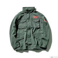 """STRICT-G × ALPHA INDUSTRIES M-65 フィールドジャケット 『機動戦士ガンダム』 """"ジオン軍 ランバ・ラル隊""""モデル"""
