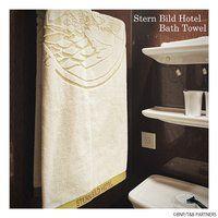 TIGER & BUNNY×HTMLZERO3 STERN BILD HOTEL バスタオル