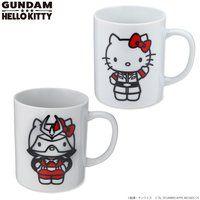 ガンダム VS ハローキティ 和解企画 マグカップ