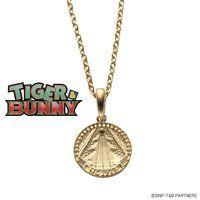 TIGER & BUNNY silver925 コインネックレス(思い出のピンズ柄)