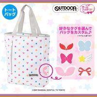 AIKATSU!STYLE for Lady×OUTDOOR PRODUCTS~マルチタイプ柄トートバッグ~