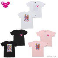 おジャ魔女どれみ 20周年記念 バックプリントTシャツ