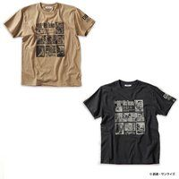 STRICT-G『機動戦士ガンダム 第08MS小隊』 Tシャツ フレーム柄