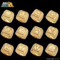 聖闘士星矢 黄金聖衣箱(ゴールドクロスボックス)デザインsilver925リング
