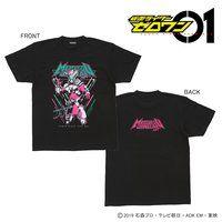 仮面ライダーゼロワン キャラクターTシャツ「仮面ライダー迅」