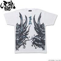 牙狼〈GARO〉 暗黒騎士 キバ Tシャツ【再販 2020年8月お届け】