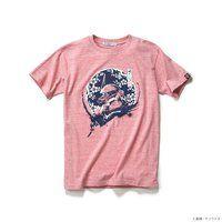 STRICT-G JAPAN Tシャツ 唐紙文様梅花丸シャア専用ザクII柄