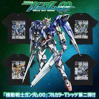 機動戦士ガンダム00 フルカラーTシャツ 第二弾