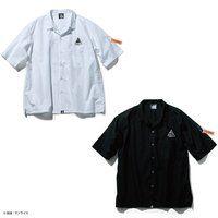 STRICT-G NEW YARK 半袖オープンカラーシャツ ガンダムフェイス柄