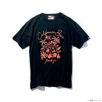 STRICT-G PAIKAJI「機動戦士ガンダム」 Tシャツ Char's zakuII California Base