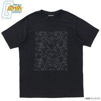 機動戦士ガンダム BLACKシリーズ シャアマーク迷彩柄 Tシャツ