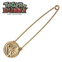 TIGER & BUNNY 思い出のピンズ柄 ラペルピン