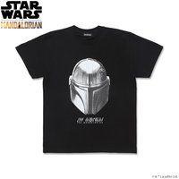 The Mandalorian マンダロリアン Tシャツ フェイス柄【2020年12月お届け分】