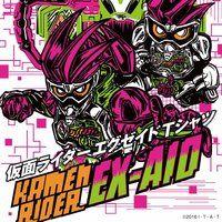 仮面ライダーエグゼイド Tシャツ  feat.STUDIO696