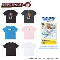デジモンアドベンチャー: デジモンカード付きTシャツ