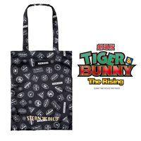 劇場版 TIGER & BUNNY -The Rising- サテントートバッグ スタンプ風デザイン