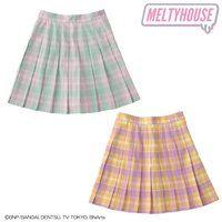 MELTYHOUSEパステルテニススカート【M〜Lサイズ】