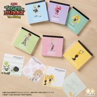 TIGER & BUNNY ステーショナリーシリーズ スクエアメモ3冊セット(全2種)