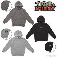 TIGER & BUNNY 刺繍 プルパーカー(裏起毛)