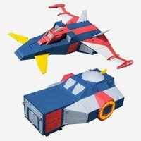 スーパーミニプラ 無敵ロボ トライダーG7 トライダー・シャトル&トライダー・ニューシャトルセット【PB限定】