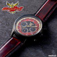 仮面ライダークウガ クロノグラフ腕時計 赤の金