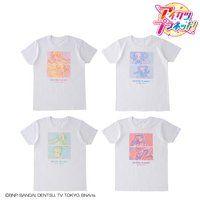 【サイン会応募券つき】アイカツ!デザインマート トライカラーTシャツ【M〜Lサイズ】