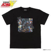 新機動戦記ガンダムW エピソードTシャツ EP12 「迷える戦士たち」 XXXG-01S シェンロンガンダム
