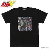 新機動戦記ガンダムW エピソードTシャツ EP17 「裏切りの遠き故郷」 XXXG-01SR ガンダムサンドロック