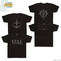 機動戦士ガンダム BLACKシリーズ マーク Tシャツ