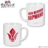 機動戦士ガンダム 鉄血のオルフェンズ 鉄華団文字シリーズ マグカップ