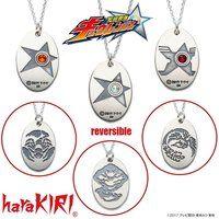 宇宙戦隊キュウレンジャー×haraKIRI silver925 プレートネックレス