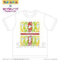 クレヨンしんちゃん×ラブライブ!サンシャイン!! Shinchan&Aqours Tシャツ(1)