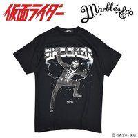 仮面ライダー×Marbles(マーブルズ)コラボTシャツ ショッカーフォト柄