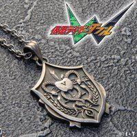 仮面ライダーW NECRO OVER(ネクロオーバー) silver925 ネックレス