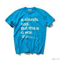 STRICT-G『機動戦士ガンダム』Famous Lines Tシャツ 第36話スレッガー・ロウ
