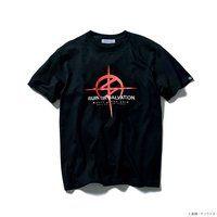 STRICT-G『機動戦士ガンダム 閃光のハサウェイ』 Tシャツ マフティーロゴ【2次:2021年8月発送】
