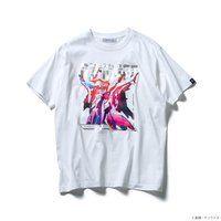STRICT-G『機動戦士ガンダム 閃光のハサウェイ』 Tシャツ 箔グラデーション ペーネロペー【2次:2021年8月発送】