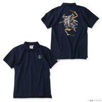STRICT-G JAPAN 『機動戦士ガンダム 閃光のハサウェイ』 ポロシャツ 筆絵風ペーネロペー