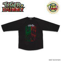 TIGER & BUNNY 7分袖Tシャツ