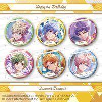 A3! ホログラム缶バッジ 〜Happy×4 Birthday Summer Troupe!〜