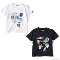 STRICT-G 『機動戦士ガンダム』キッズTシャツ ワッペンイラスト柄