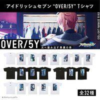 """アイドリッシュセブン """"OVER/5Y""""Tシャツ(ZOOL)【二次受注:2021年8月発送】"""